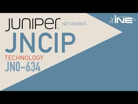 JNCIP-SEC Technology Course: JN0-634