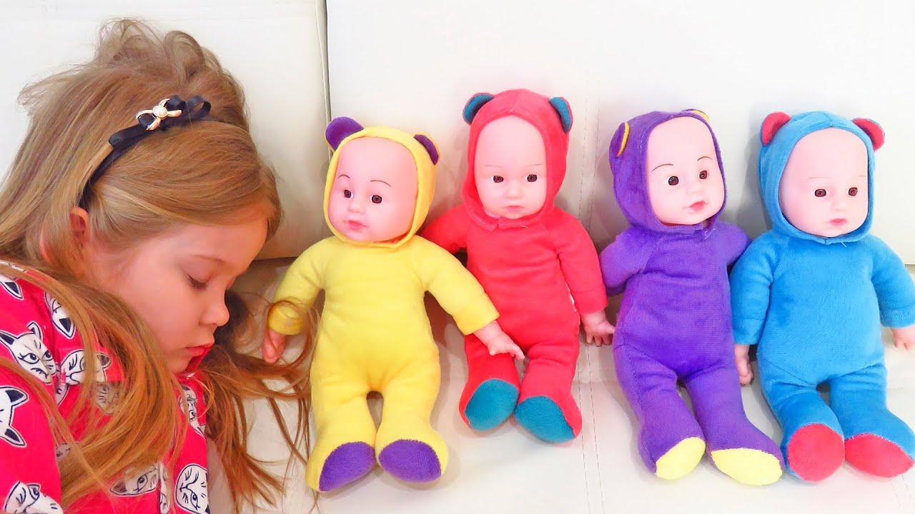 Лера и сборник лучших серий про куклы