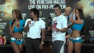 Manny Pacquiao + Brandon Rios + Top Rank Girls
