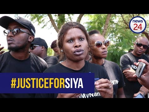 WATCH: Protesters call for government action after Taxify death