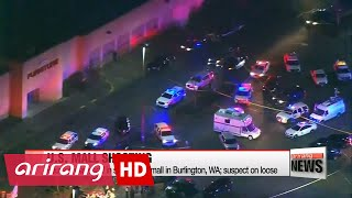 Four dead in shooting at mall in Burlington, WA; suspect on loose