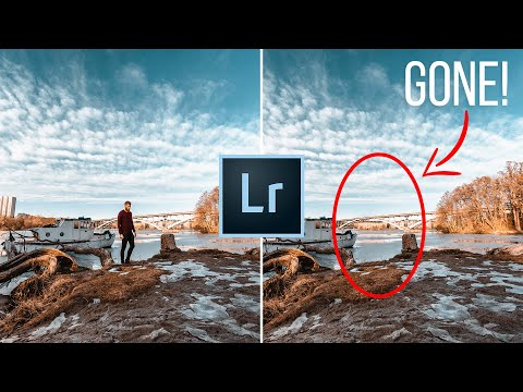 Remove Anything in Lightroom & Master the Spot Removal Tool