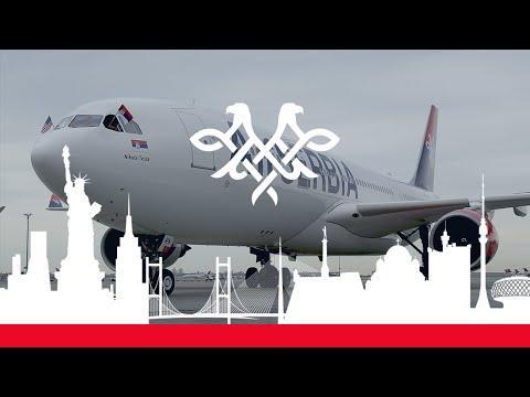 How We Made the First Belgrade - New York Flight | Air Serbia | #BEGtoJFK