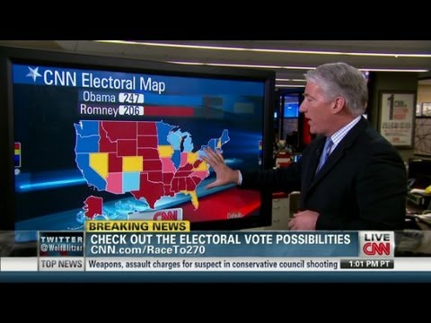 Wisconsin now a toss-up state for 2012 elections - YouTube on