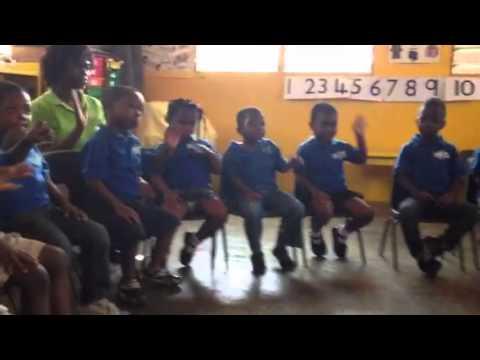 Nursery class New Nation School Accra