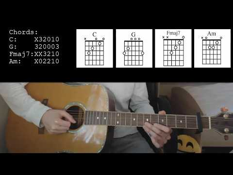 Calum Scott - Dancing On My Own EASY Guitar Tutorial