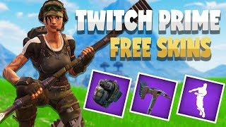 How to get the *NEW* TWITCH PRIME Exclusive skins for free! | Fortnite Battle Royale Gameplay