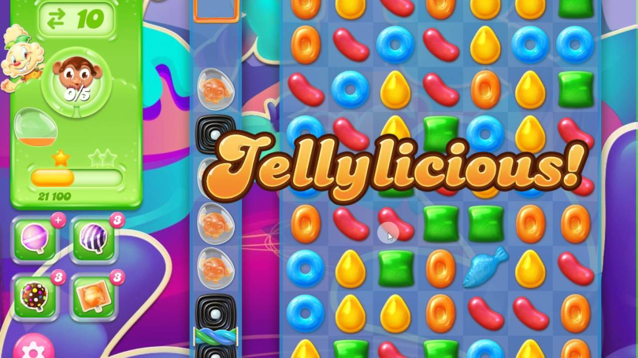 Candy Crush Jelly Saga Level 175 No Boosters 3 stars ...