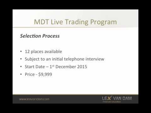 Join Lex van Dam's Million Dollar Traders Live Trading Program
