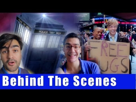 Doctor Who The Musical- BEHIND THE SCENES | AVbyte