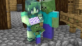 Monster School : Baby Zombie Life 3 - Story Minecraft Animation