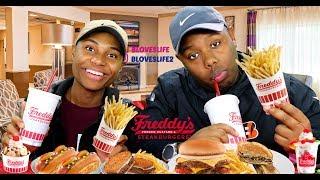 Freddy's Steakburgers Mukang with Darius and ZaddyChunkChunk