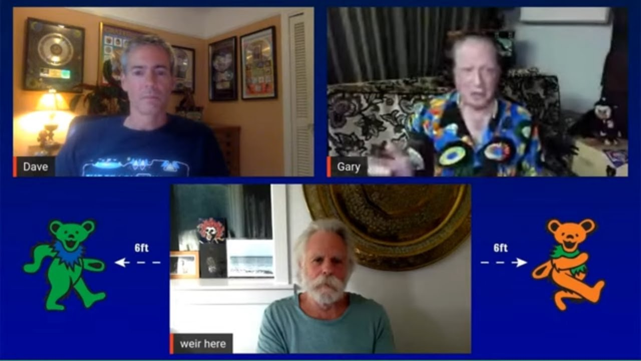 Shakedown Stream Pre-Show with Dave & Gary feat. Bob Weir (8/7/20) | Daze Between
