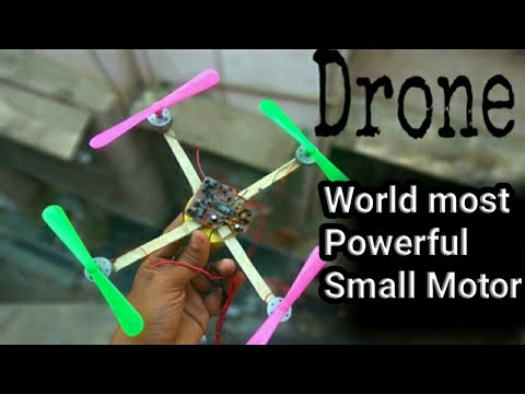 World Smallest Powerful Drone Motor