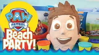 Paw Patrol Toys & Giant Paw Patrol Play-doh Surprise Eggs - a Paw Patrol Surprise Egg by KidCity