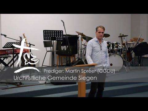 UGS - Predigt vom 05.01.2020 - Martin Spreer als Gastprediger