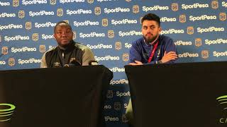 Benni McCarthy's post match press conference