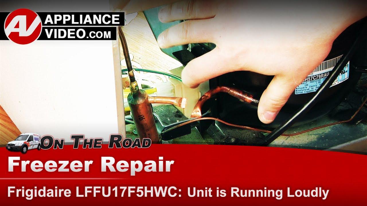 Frigidaire Electrolux Freezer Unit Very Loud When Running Compressor Diagram Parts List For Model Kburt3655e01 Thermadorparts Diagnostic Repair