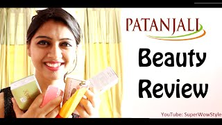 Part 3 - Patanjali Haul! _ HONEST Review _ (Beauty Products for Skin & Hair) | SuperWowStyle Prachi