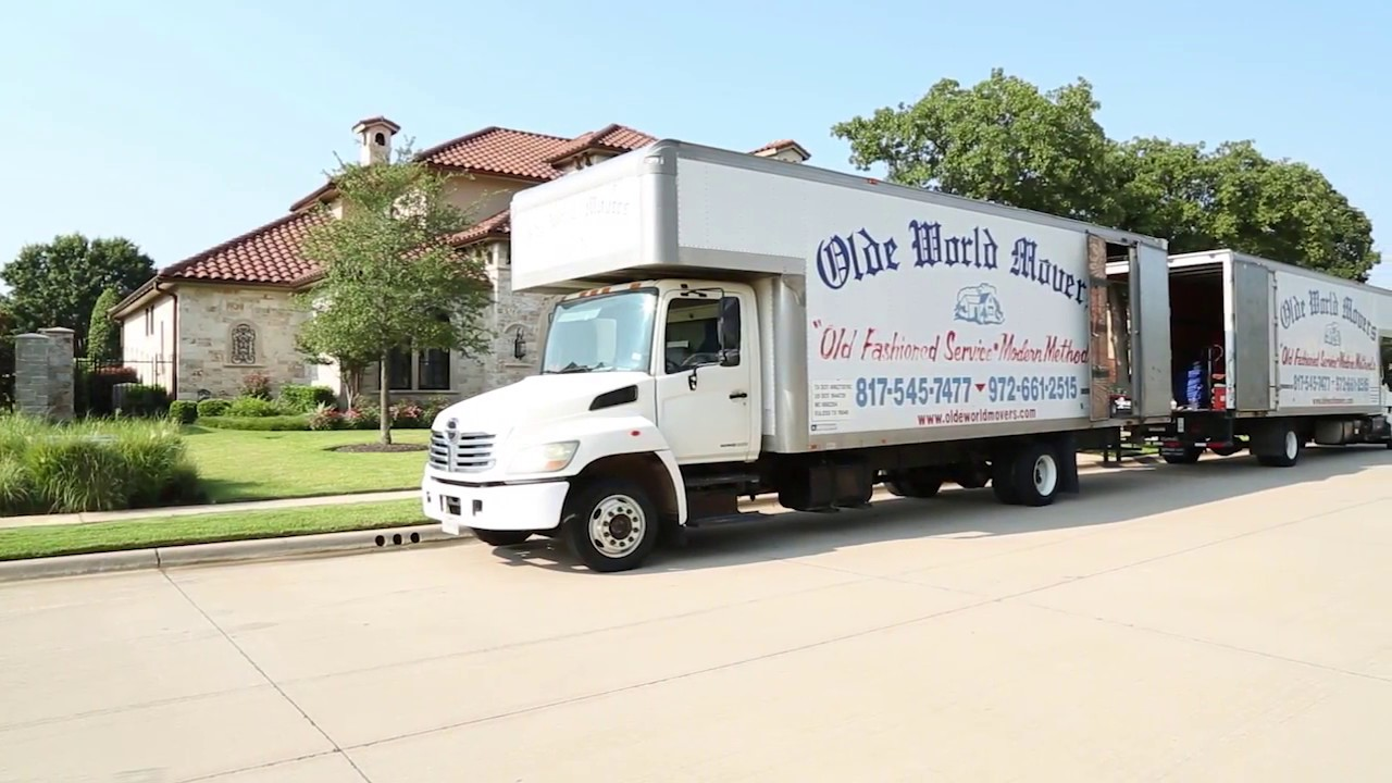movers in the colony, tx | olde world movers | local moving company