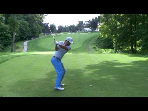 Wesley Bryan and Ryan Moore's slo-mo swing is analyzed at John ...