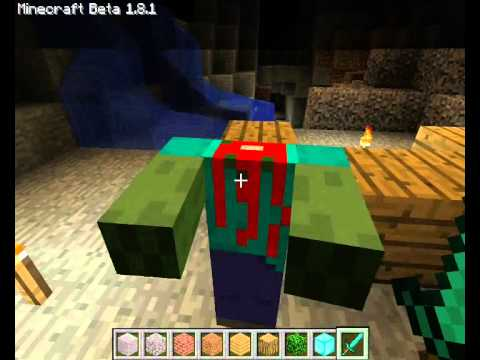 Minecraft My First Zombie Skin LINK FOR DOWNLOAD YouTube - Skin para minecraft pe zombie