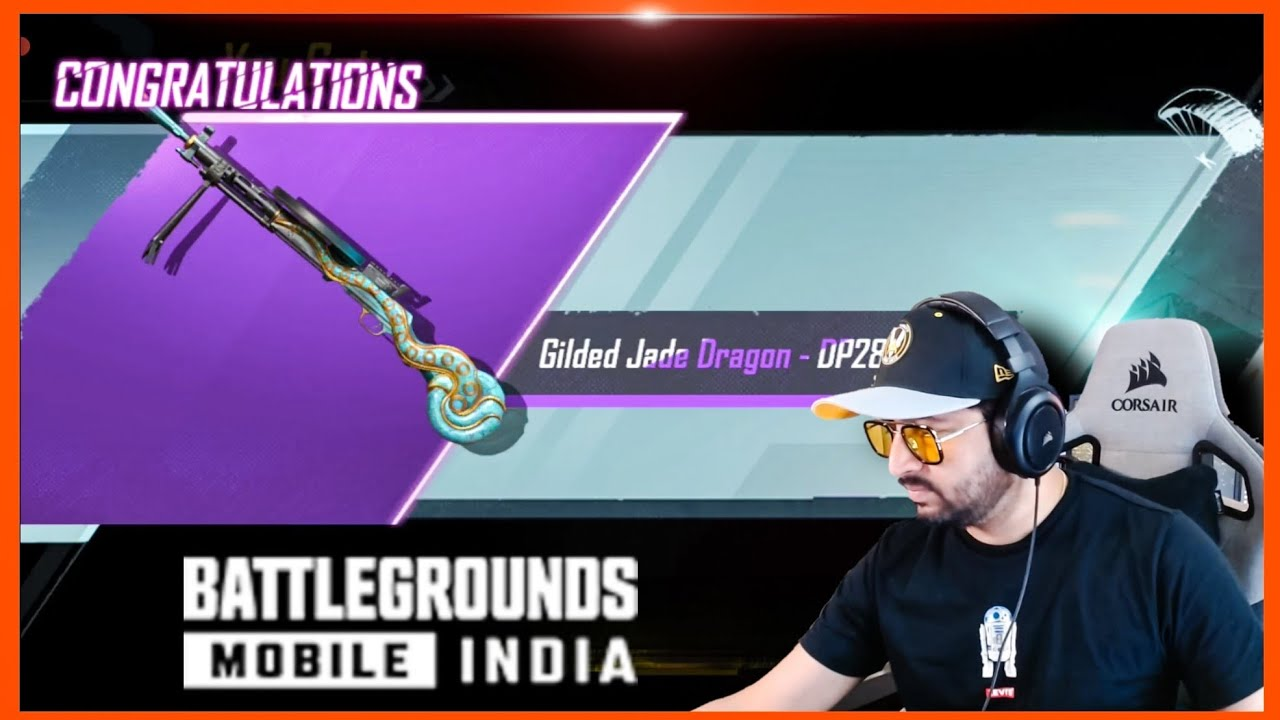 GETTING DRAGON DP 28 WITH VICTOR CHARACTER TRICK 😂 ( BATTLEGROUNDS MOBILE INDIA BGMI )