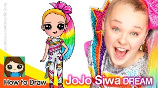 How to Draw JoJo Siwa | DREAM