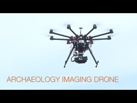 Archaeology Imaging Drone