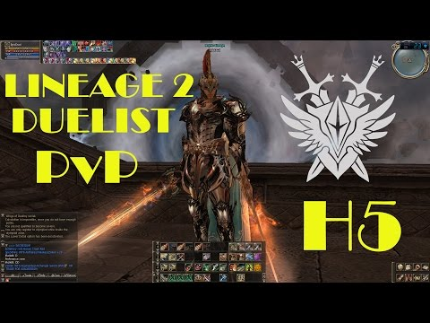 Duelist PvP High Five H5 Lineage 2 l2 game fights