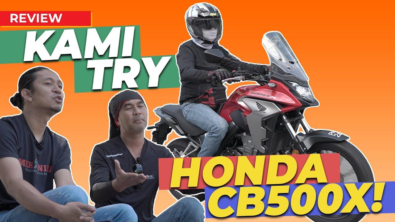 HONDA CB500X, MOTOR ADVENTURE PALING SEMPOI!!!