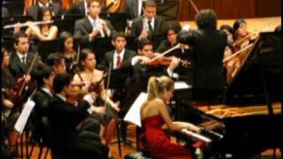 1/4 Dudamel - Alicia G. Martínez - Sinfónica Juvenil de Caracas - Beethoven Piano Concerto Nº 5 YouTube Videos