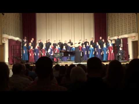 2016/10/07 Capital Univ. Chapel Choir: Be Thou A Smooth Way