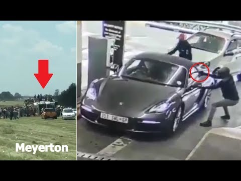 South Africa | Craziest crimes caught on video (2019)