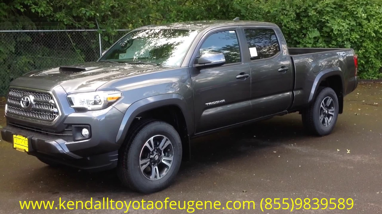 2017 Toyota Tacoma Trd Sport Long Bed