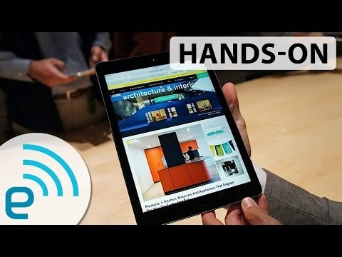 IPad Air Hands-on | Engadget