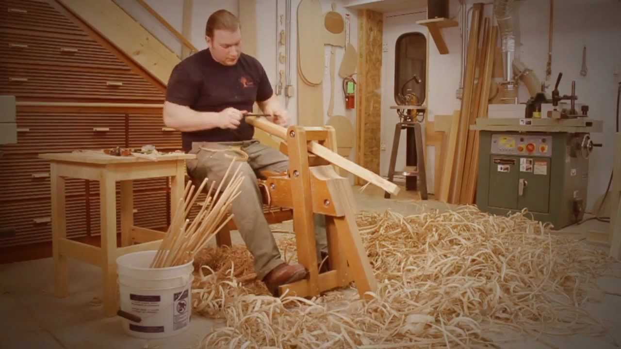Building A Windsor Chair Youtube