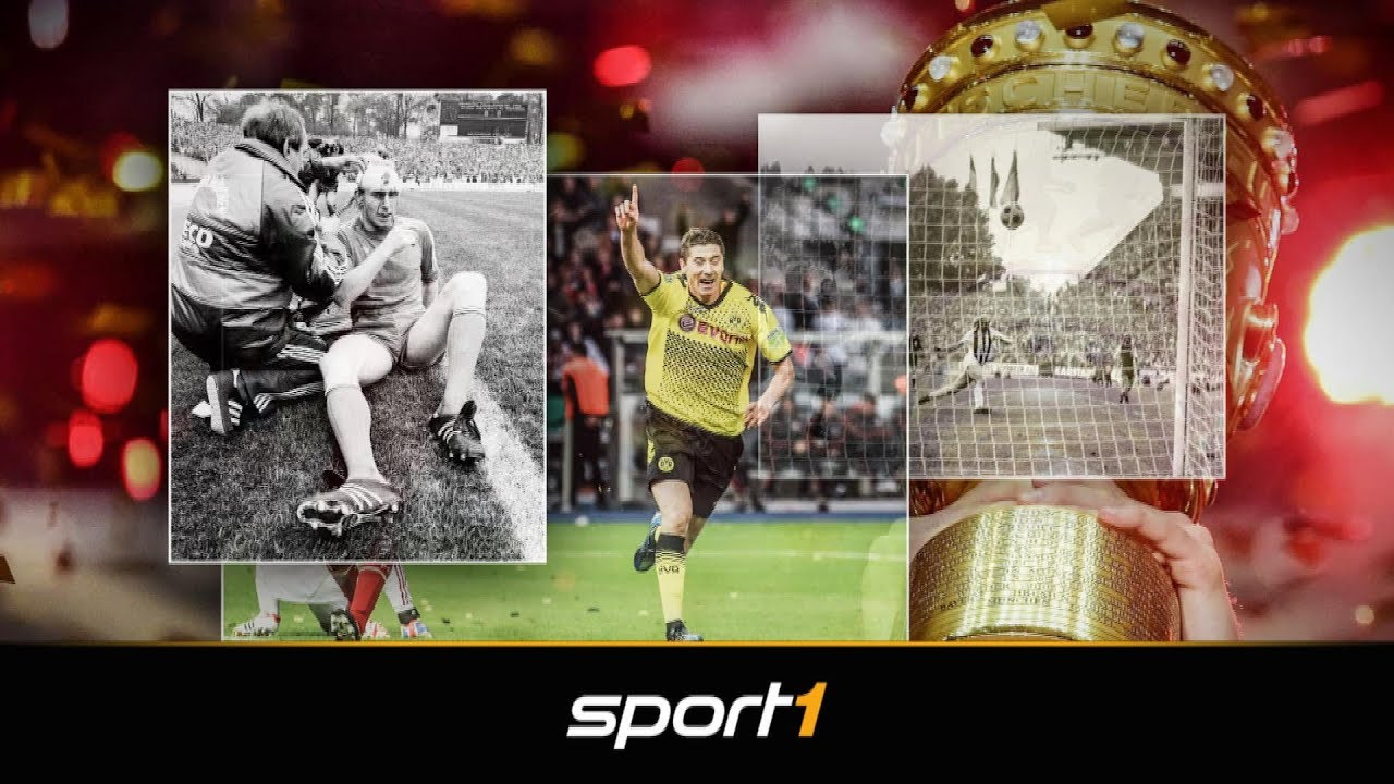Sensationen, Drama, Gänsehaut - Die größten Pokalendspiele | SPORT1 - DFB-POKAL