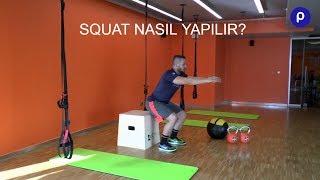 Spor'da Squat (Çömelme) En iyi Nasıl Yapılır?  Fizik İçin Faydaları Nelerdir?