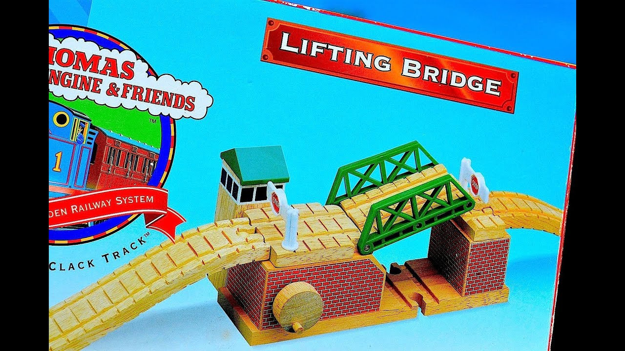 Thomas The Tank Engine Friends Lifting Bridge For The Wooden Toy Train Railway 60 Second Reviews