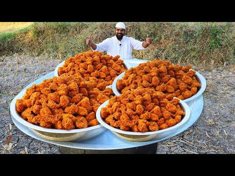 KFC Style Chicken Popcorn Recipe || Crispy Fried Chicken Popcorn For Kids || Nawabs Kitchen