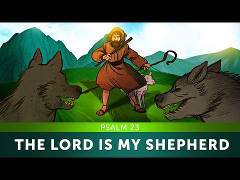 Sunday School Lesson for Kids - The Lord is my Shepherd - Psalm 23 - Bible Teaching Story for VBS
