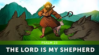 The Lord is my Shepherd - Psalm 23 | Sunday School Lesson For Kids |HD|