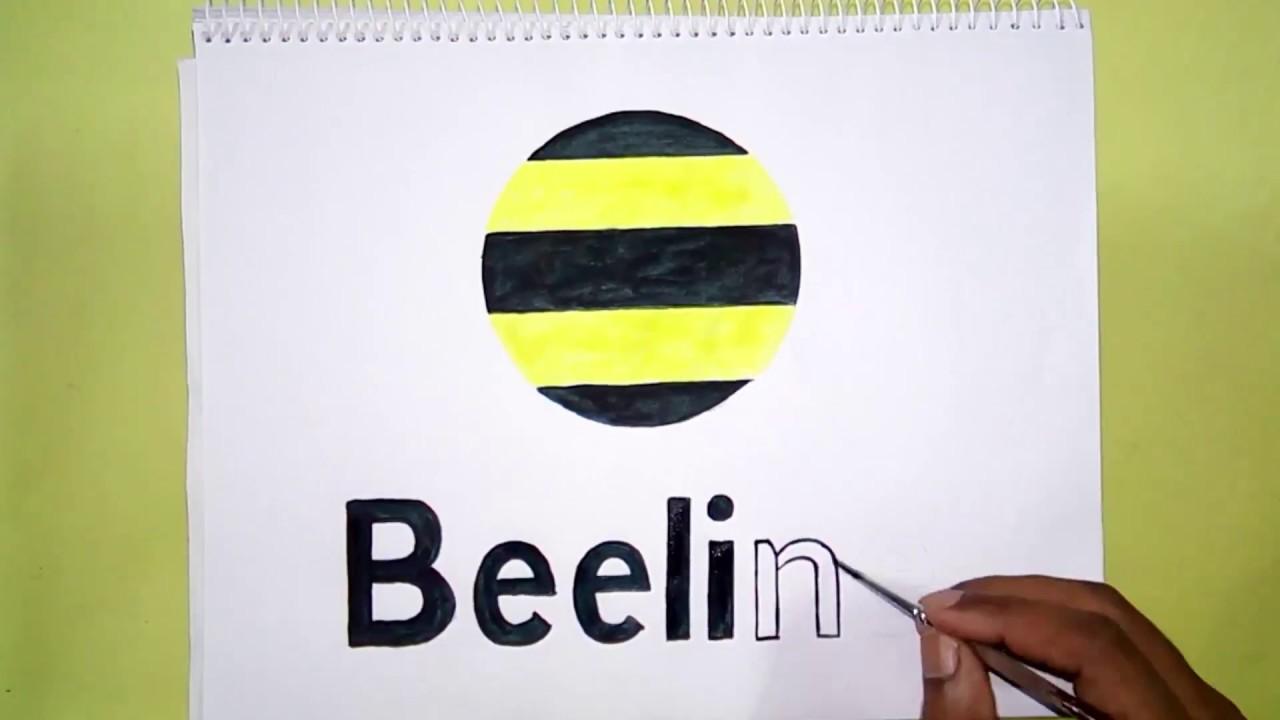 How to draw the Beeline logo