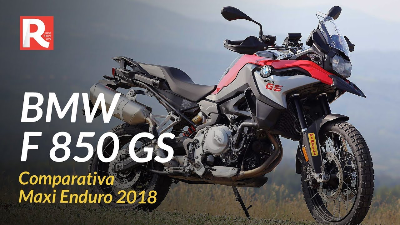bmw f 850 gs comparativa maxi enduro 2018 youtube. Black Bedroom Furniture Sets. Home Design Ideas