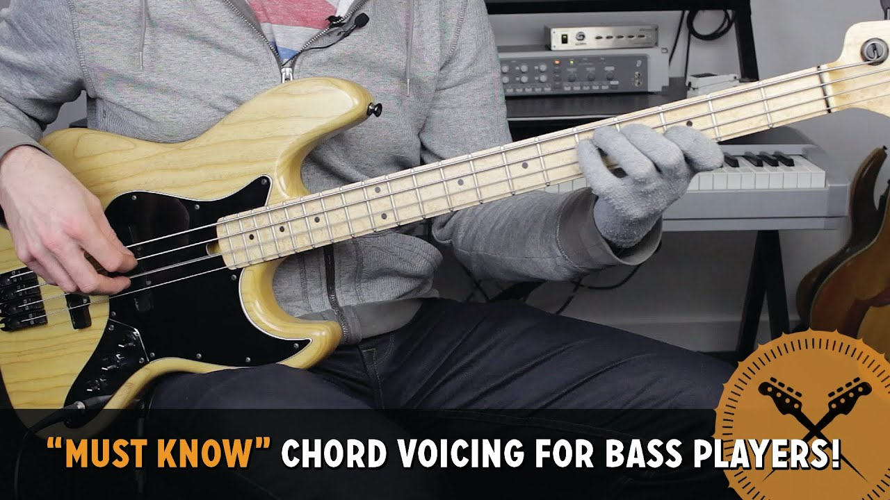 Must Know Chord Voicing For Bass Players Bass Lesson With