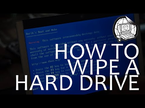 How to wipe a computer hard drive data for donation or reselling