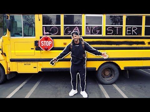 I Slept In Logan Paul's Bus.