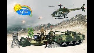 Домашние сражения игрушек ↑ Военные вертолёты машины, нёрфы, пулемёты, мотоциклы ↑ Обзор игрушек