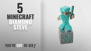 Top 10 Minecraft Diamond Steve [2018]: Minecraft Diamond Steve Action Figure